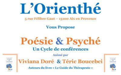 Dimanche 14 octobre 2018 – Poésie & Psyché